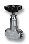 Nadelventil mit beidseitigem Innengewinde G aus Edelstahl Image