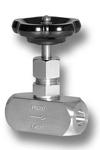 Nadelventil mit beidseitiger Anschweißmuffe aus Edelstahl Image