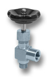 Angle shut-off valve DN6 PN250 Image